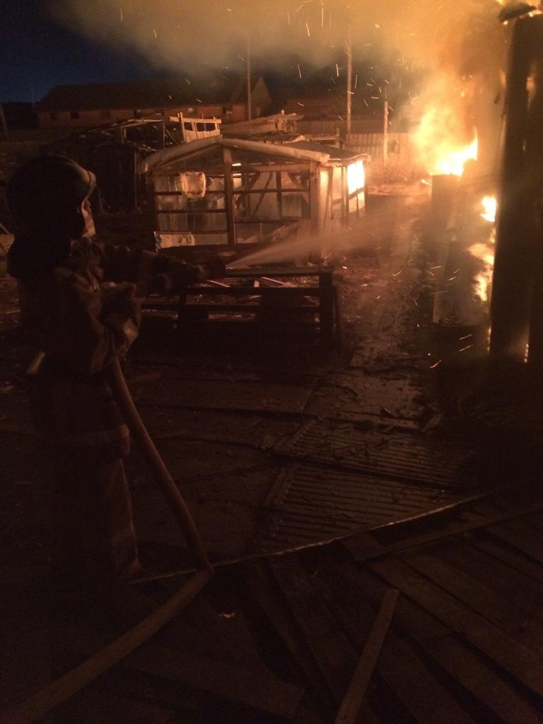 Пожар в г. Слюдянка — МЧС России по Иркутской области