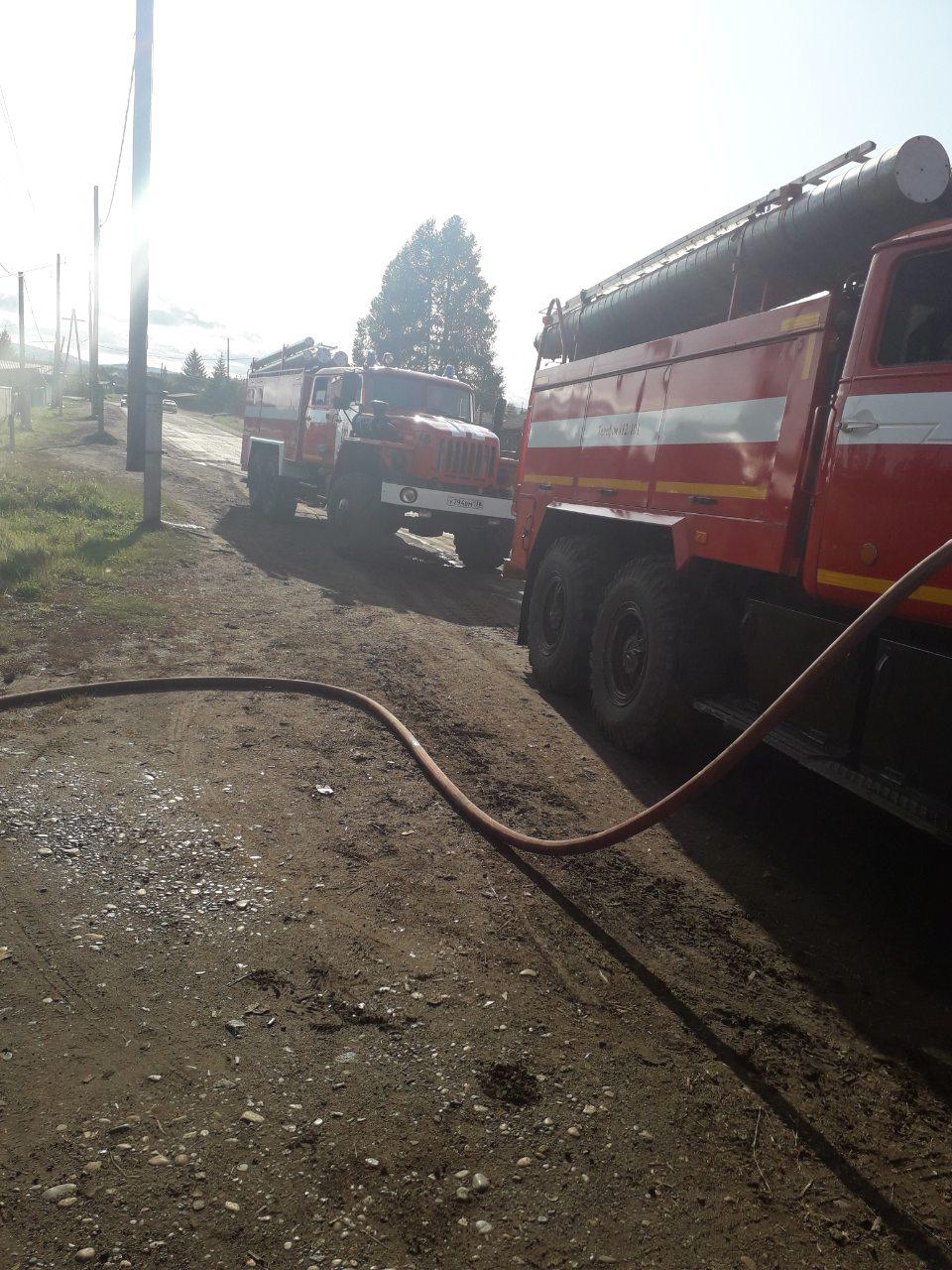 Пожар в г. Тайшете — МЧС России по Иркутской области