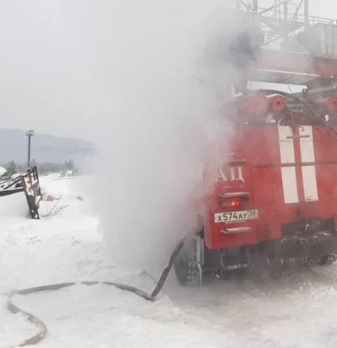 Пожар в Усть-Кутском районе — МЧС России по Иркутской области