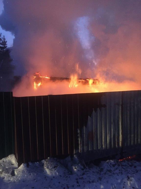 Пожар в Тайшетском районе — МЧС России по Иркутской области