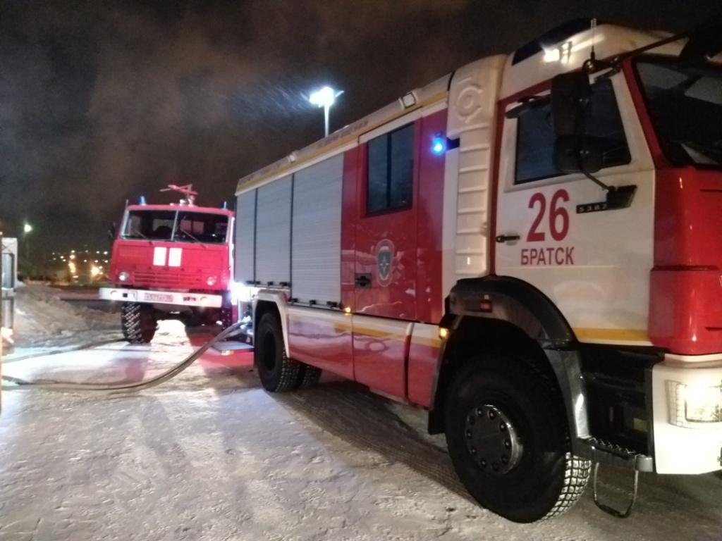 Пожар в Братском районе — МЧС России по Иркутской области