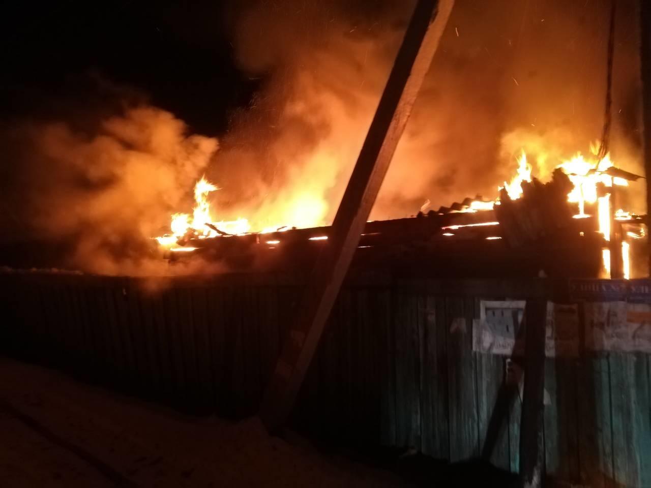 Пожар в Шелеховском районе — МЧС России по Иркутской области