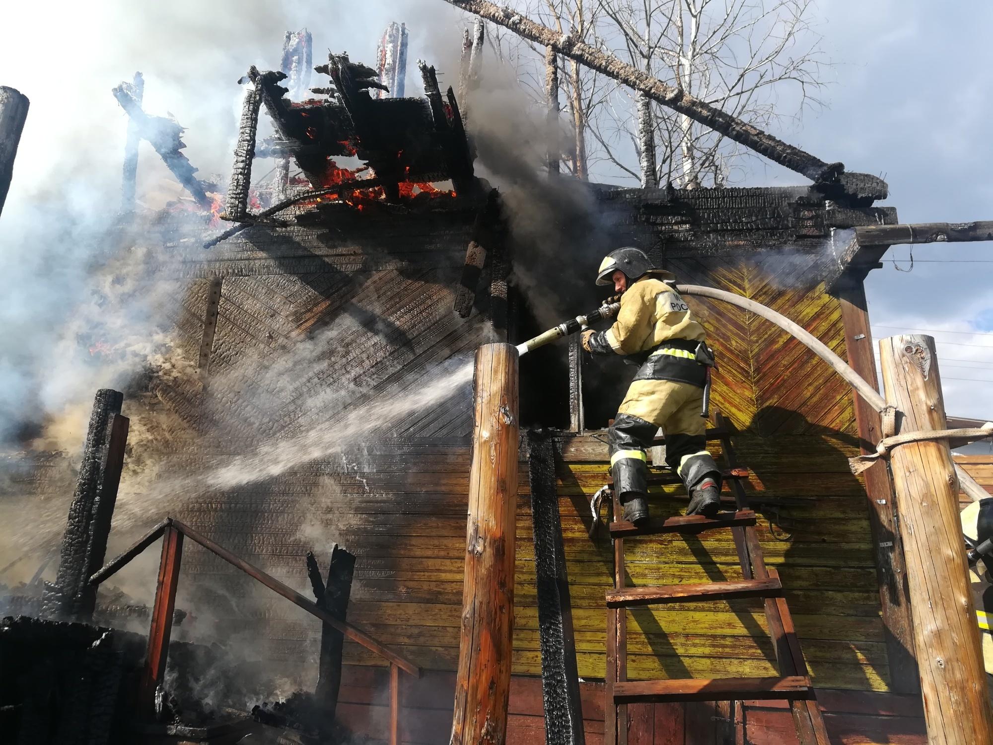 Пожар в Нижнеудинском районе — МЧС России по Иркутской области