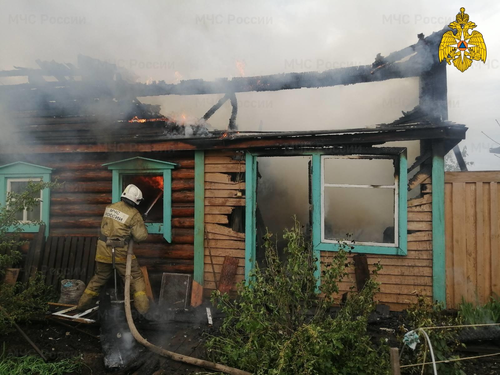 Пожар в с. Оса — МЧС России по Иркутской области